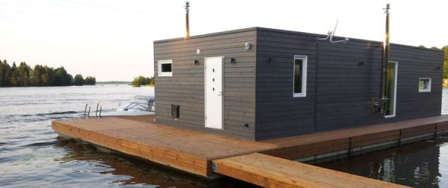 A d module modular floating homes - Floating prefabricated home ...